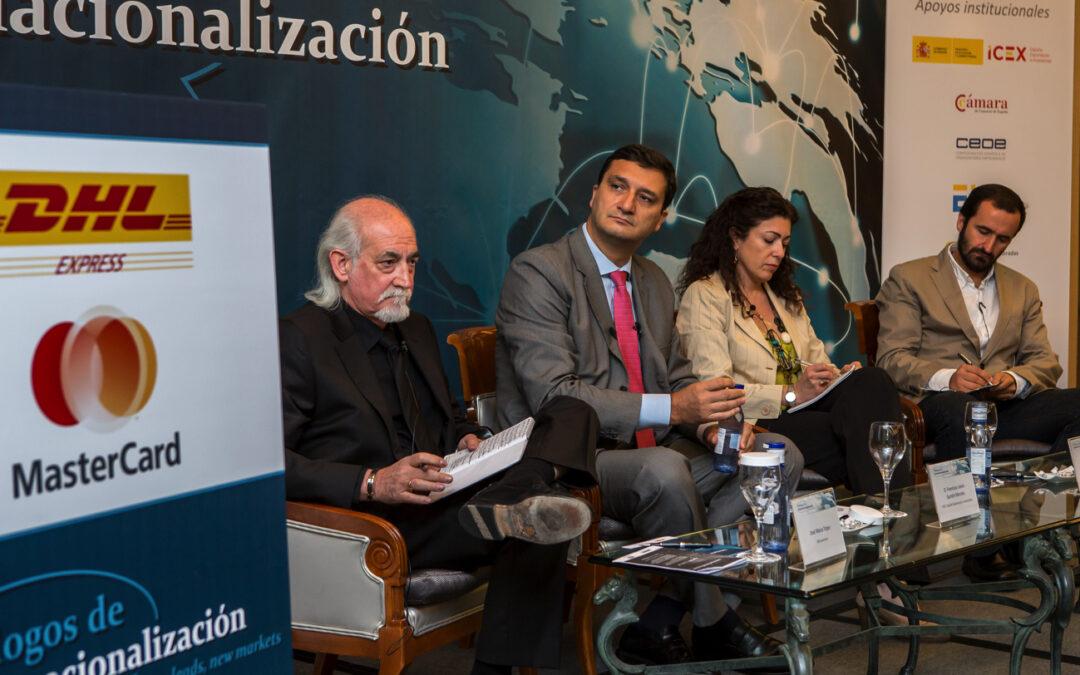 Diálogos de Internacionalización con D. Francisco Javier Garzón, Consejero Delegado del ICEX