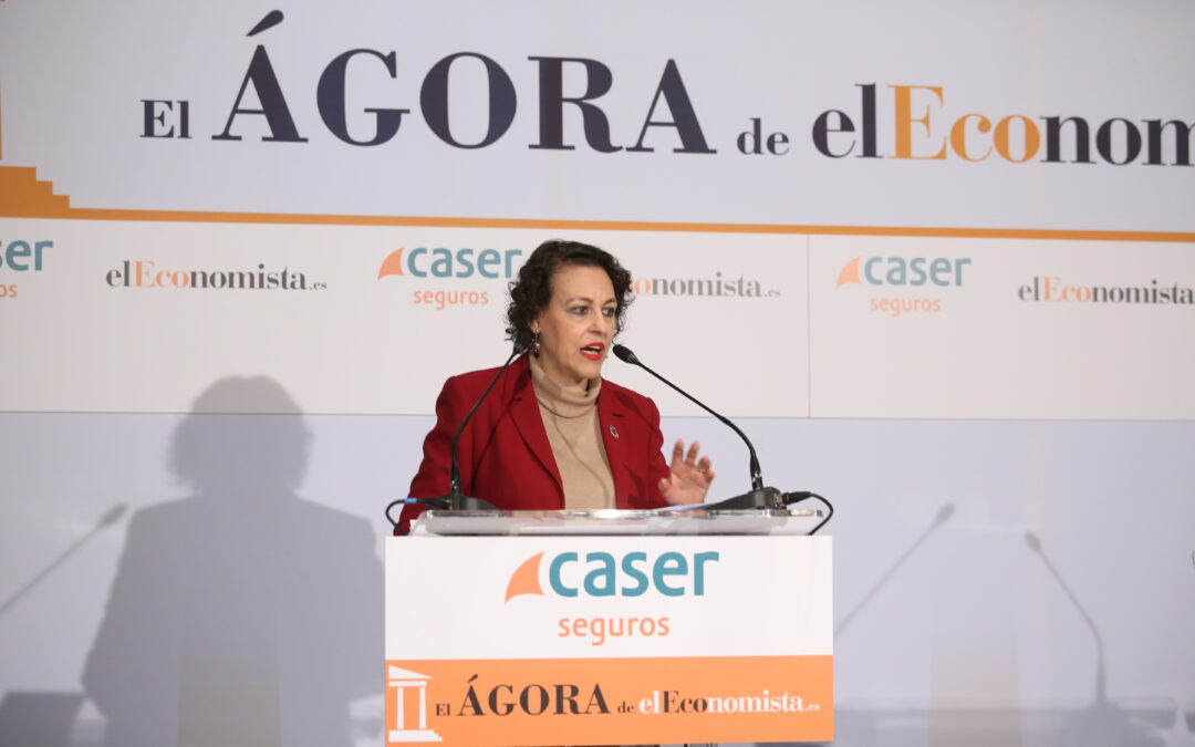 Ágora elEconomista con Dña. Magdalena Valerio