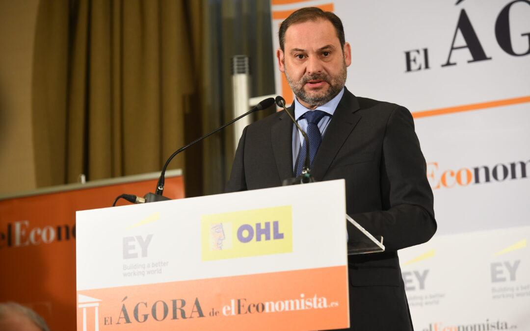 Ágora elEconomista con D. José Luis Ábalos, ministro de Fomento