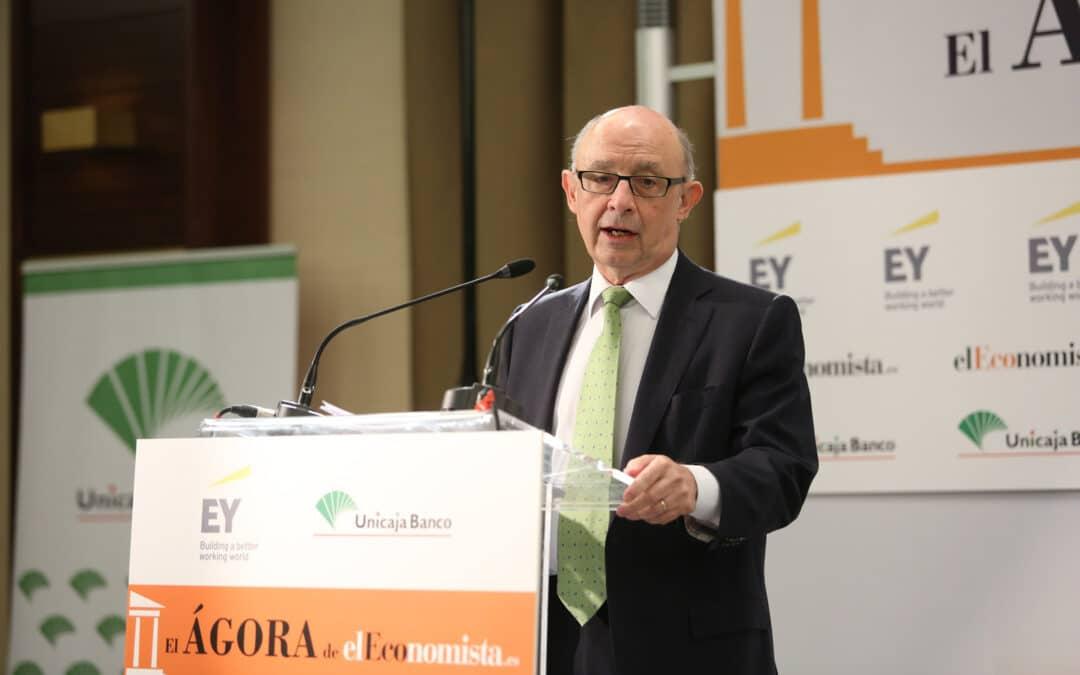 El Ágora de elEconomista con D. Cristóbal Montoro, Ministro de Hacienda y Función Pública
