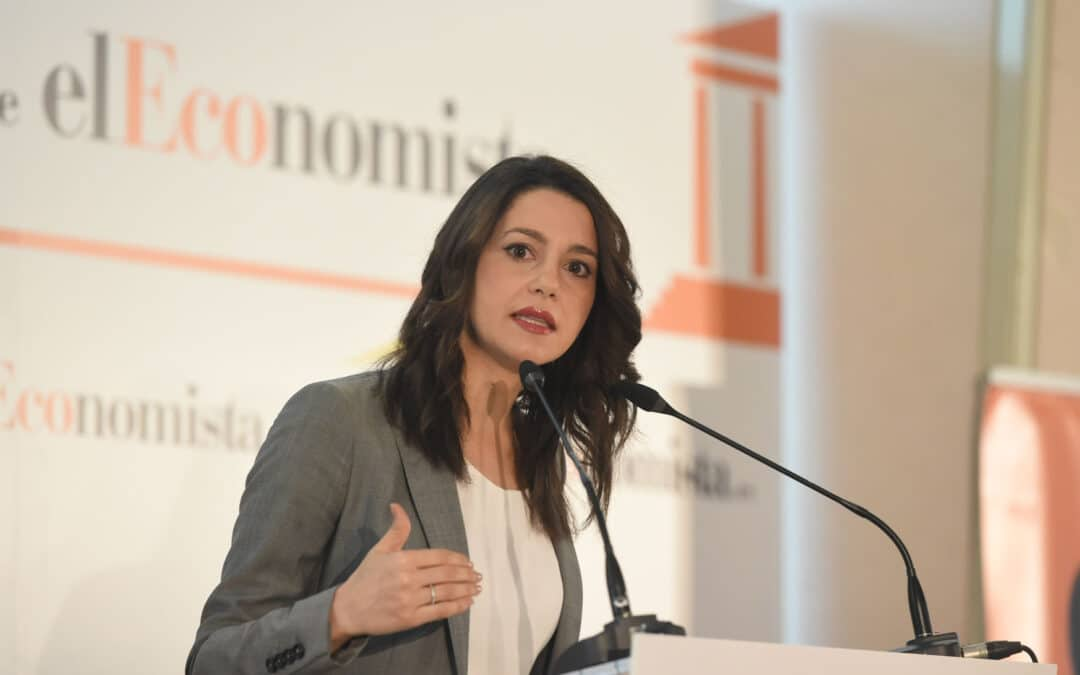 El Ágora de elEconomista con Inés Arrimadas