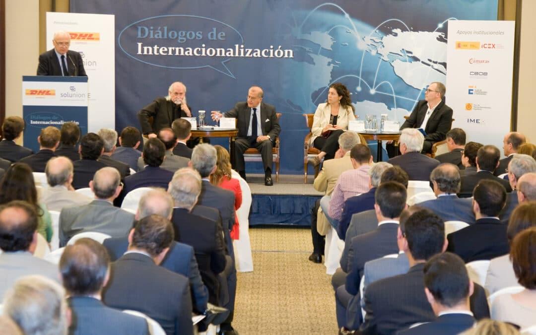 Diálogos de Internacionalización con D. Balbino Prieto, presidente del Club de Exportadores