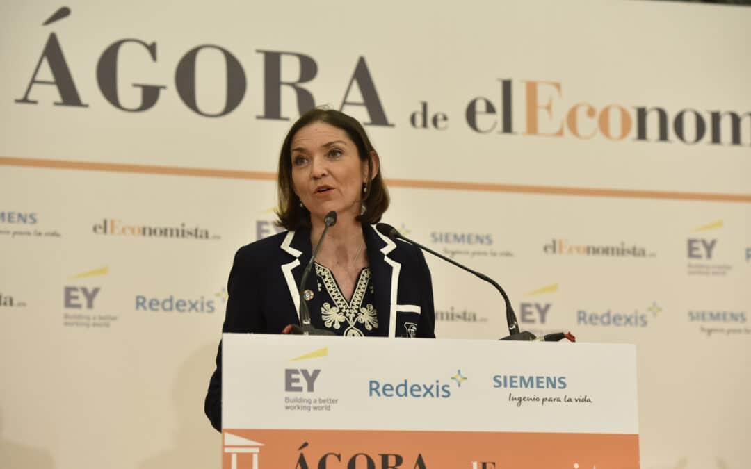 El Ágora de elEconomista con Dña. Reyes Maroto