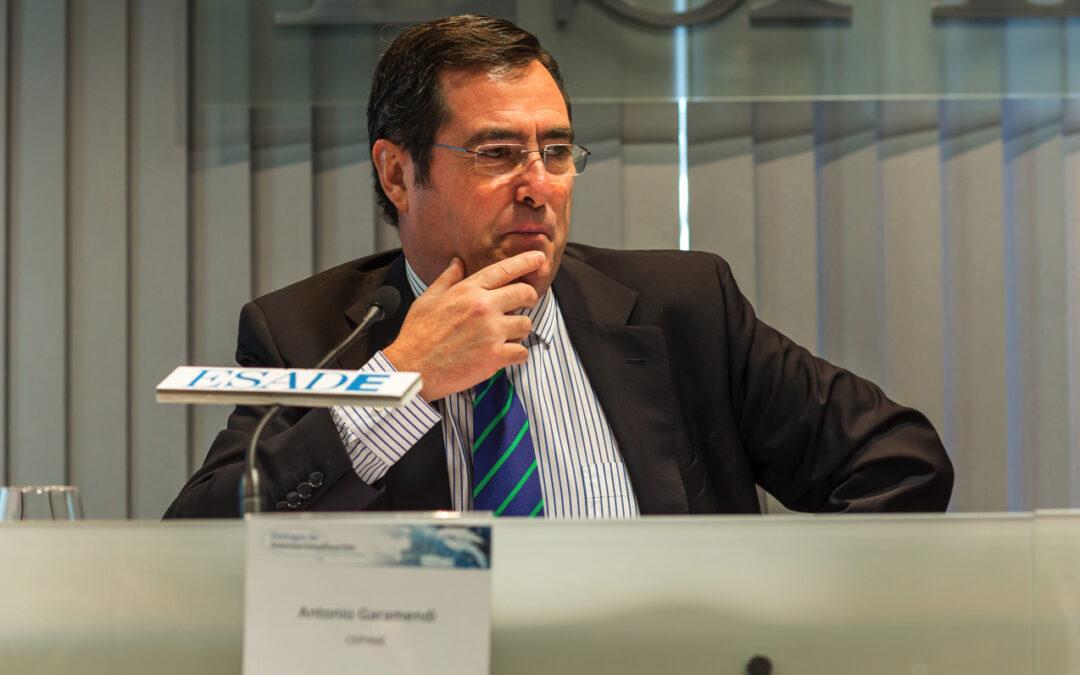Diálogos de Internacionalización con D. Antonio Garamendi, presidente de CEPYME