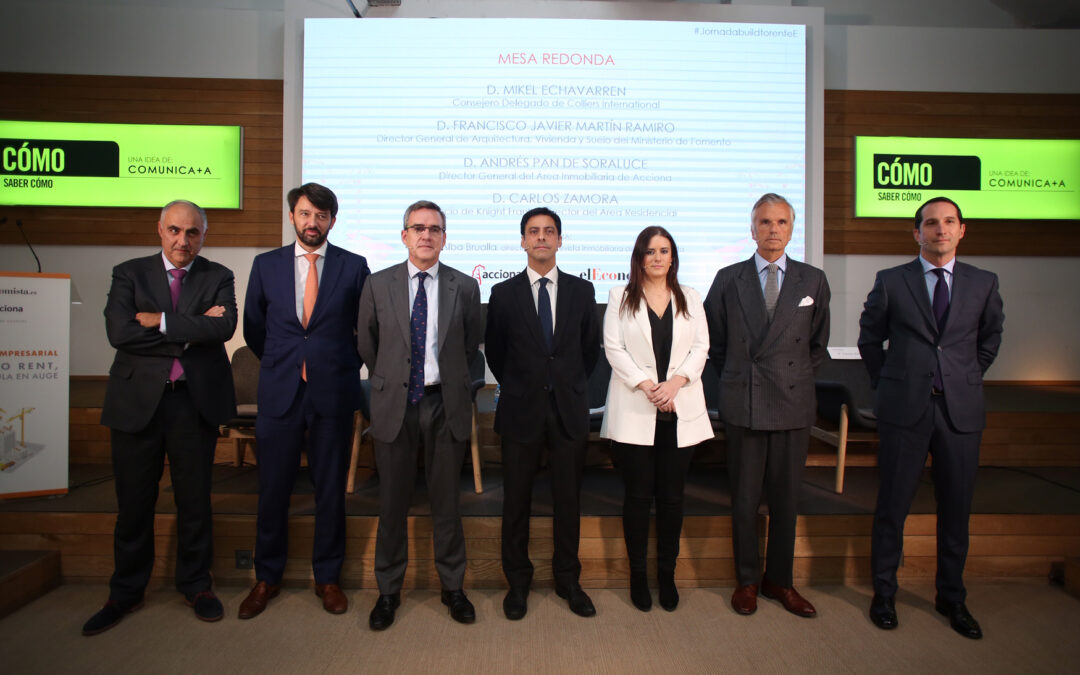 Jornada empresarial – Build to rent, una fórmula en auge