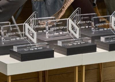 Mesa de trofeos