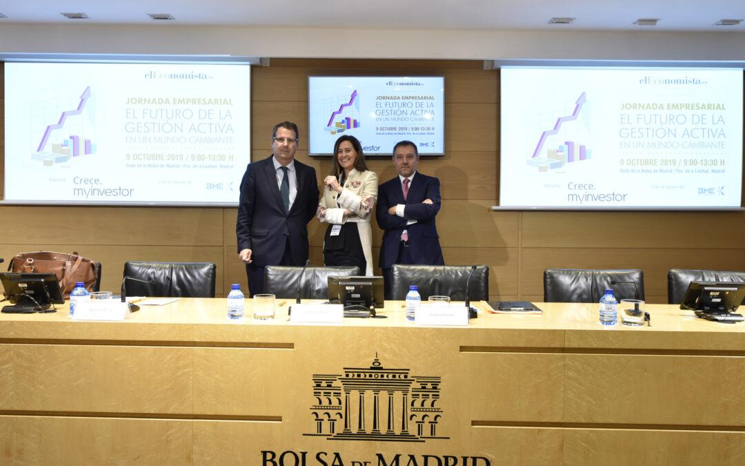 Jornada empresarial elEconomista «El futuro de la gestión activa en un mundo cambiante»