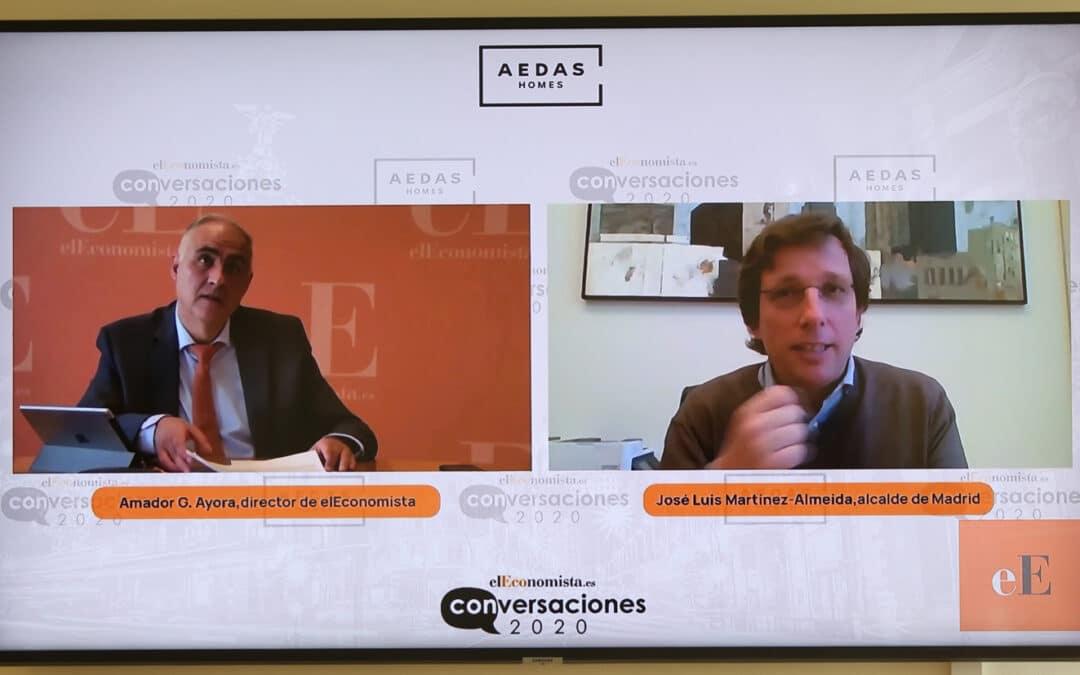 Entrevista online con D. José Luis Martínez-Almeida, Alcalde de Madrid