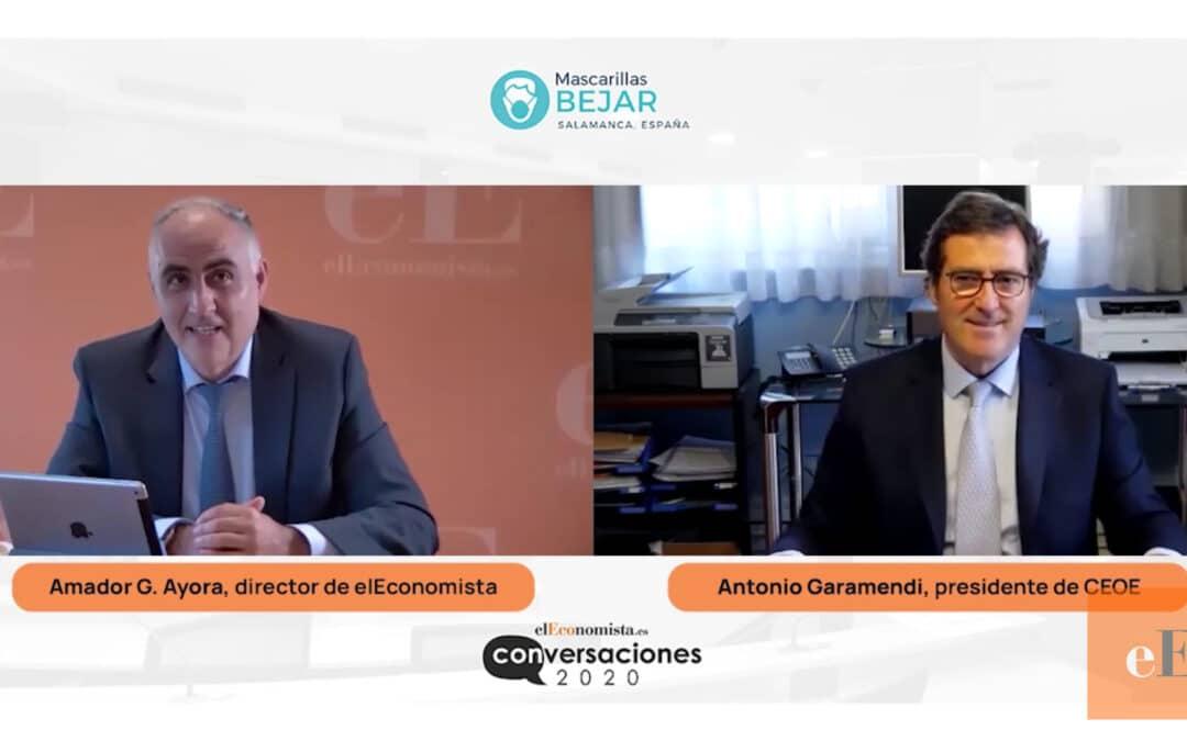 Entrevista online con D. Antonio Garamendi, presidente de la CEOE