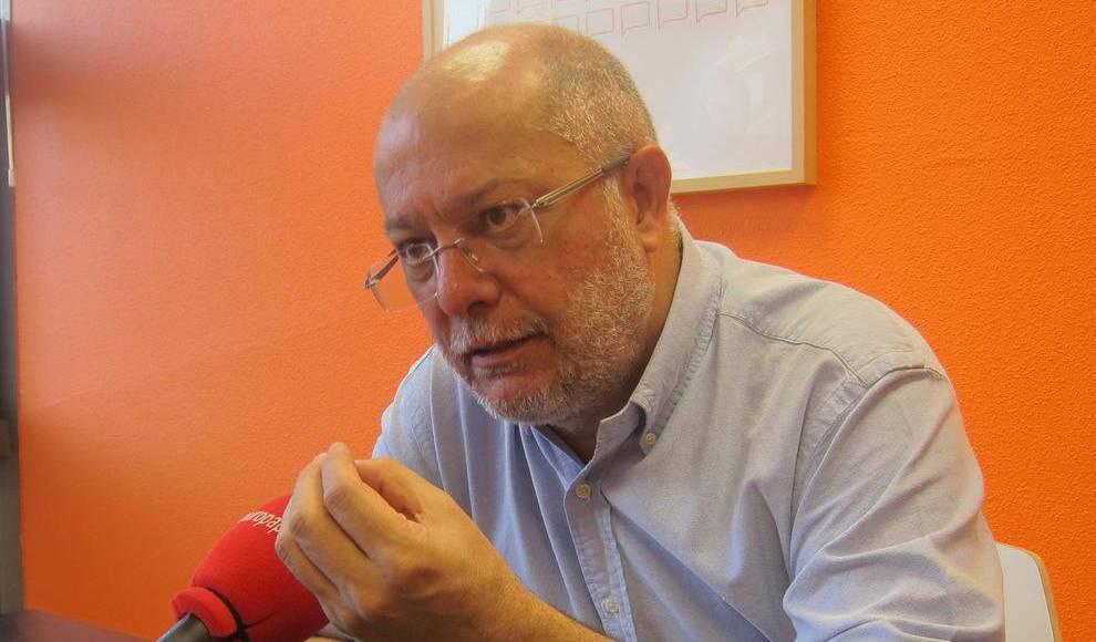 Francisco Igea, vicepresidente de la Junta de Castilla y León y Consejero de Transparencia, Ordenación del Territorio y Acción Exterior
