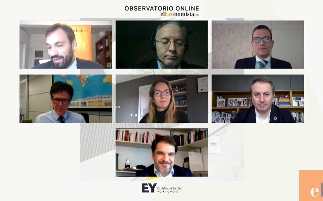 Observatorio online: La importancia de la sostenibilidad para la inversión y financiación en el entorno actual