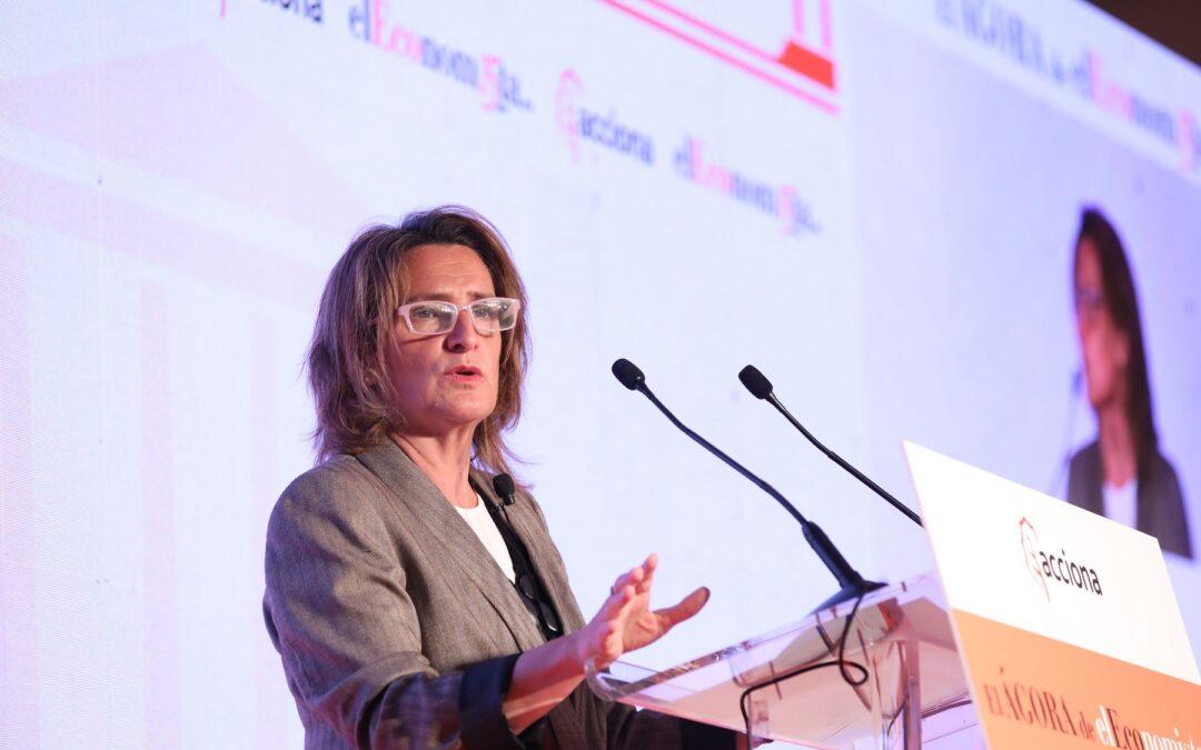 El Ágora de elEconomista con D.ª Teresa Ribera Rodríguez